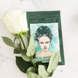 Face Sheet Mask. Problem Skin